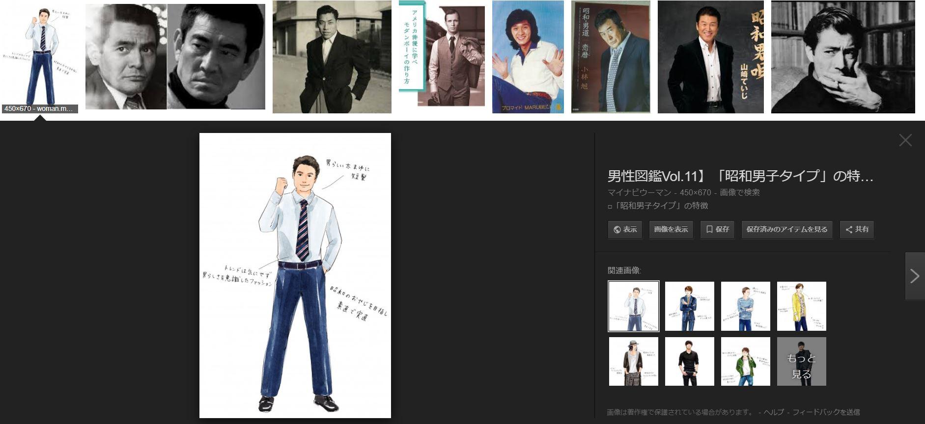 男の眉毛カットが東京では割と常識な理由を考えるうえで割と重要だった昭和の男眉