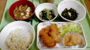 松島病院 入院8日目の夕食